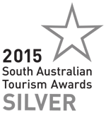 South Australian Tourism Industry Council 2015 Silver Award
