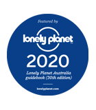 Featured in Lonely Planet Australia Guidebook (20th Edition)